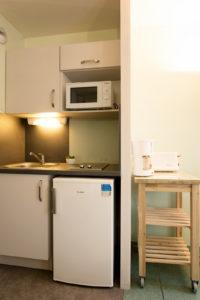 Studio Thermotel 1 personne lit 140cm kitchenette