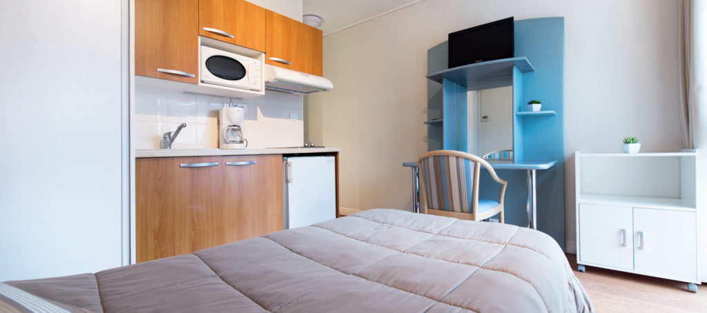 Rental Studio 1 Pers Bed 90 For Cure In Dax Near Thermal Baths